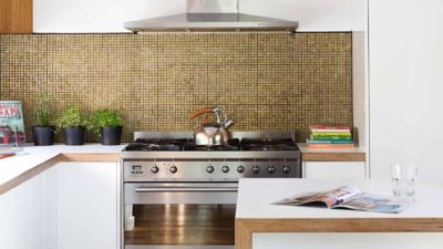 modern kitchen splashback