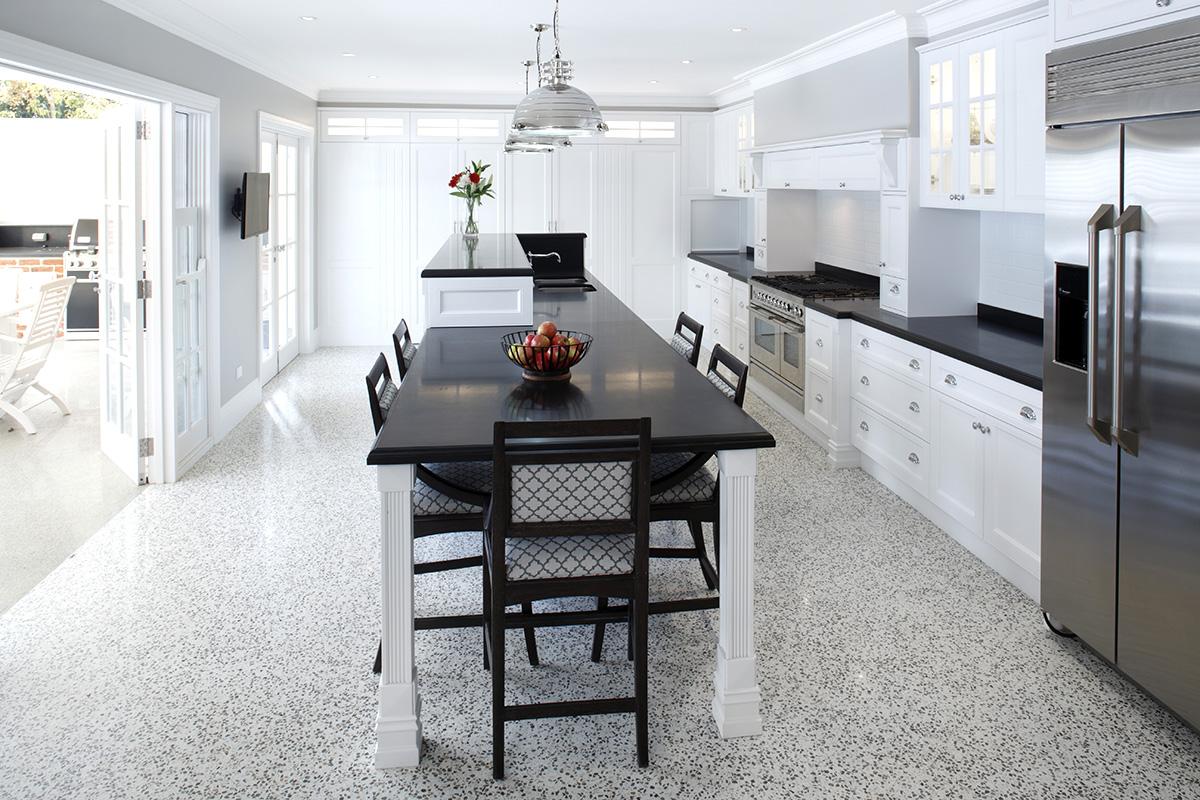 Blending contemporary kitchen design ideas | Wonderful Kitchens