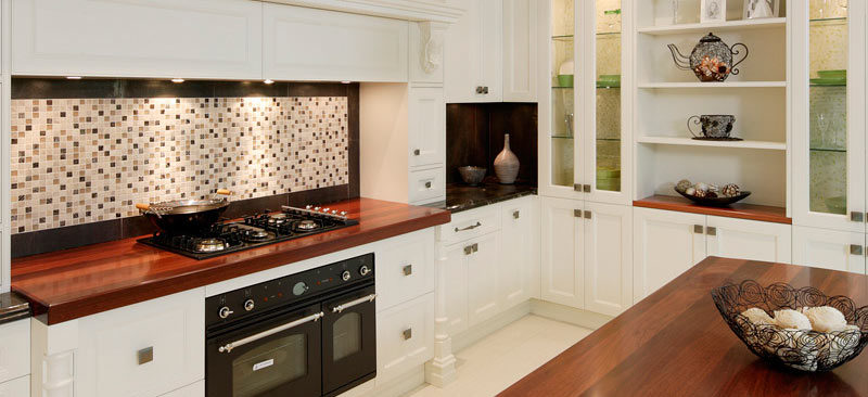 Provincial Kitchen Splashback