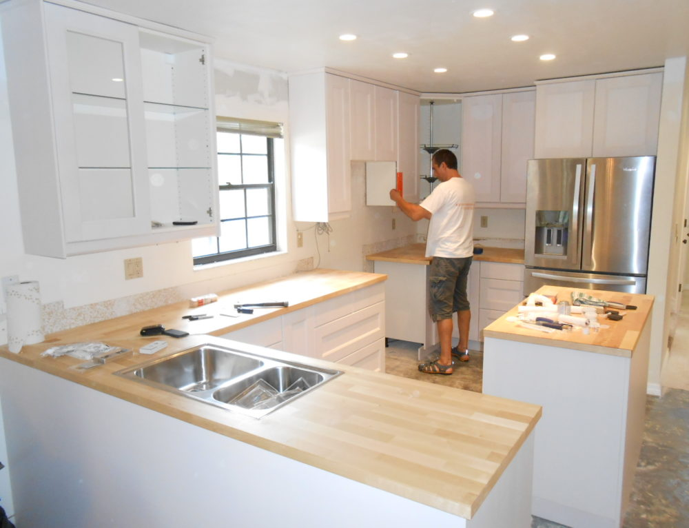 From Shabby To Chic- Kitchen Remodels On A Budget