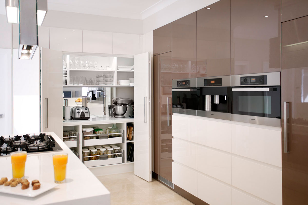 Kitchen storage ideas solutions wonderful kitchens sydney for Kitchen showrooms sydney west