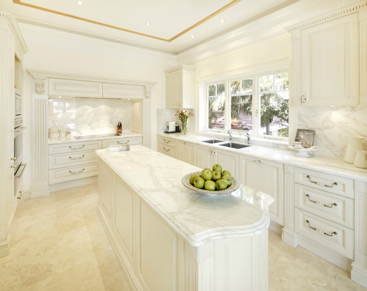 French provincial style that compliments the rest of your home for Luxury french kitchen