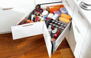 Kitchen Corner Storage Cupboard