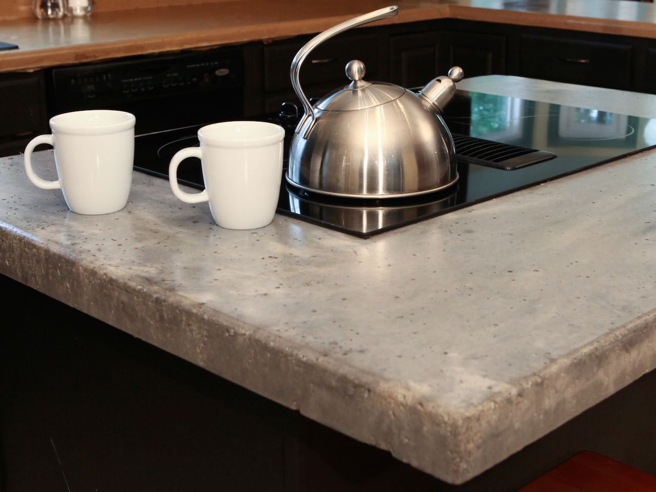 Concrete Kitchen Stovetop