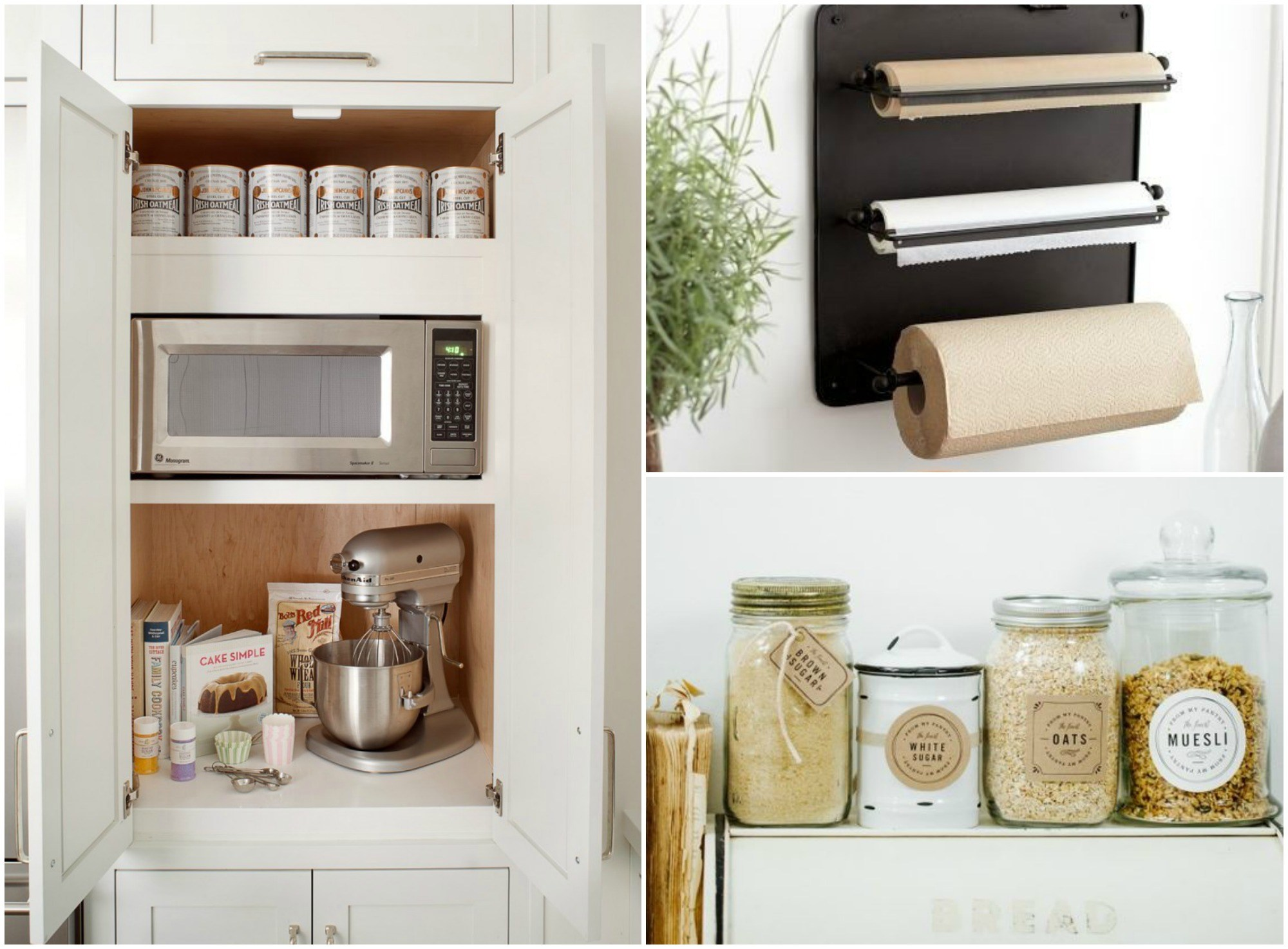 Kitchen hacks, tips and organisation