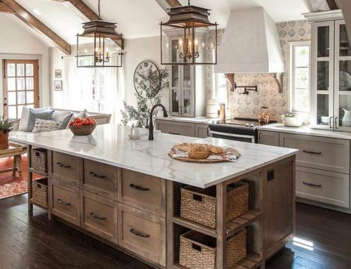"Turn Up Your Kitchens ""Wow Factor"" With Some Farmhouse Style Inspiration"