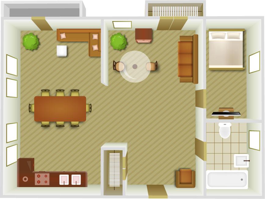 Kitchen Renovations - Floor Plans