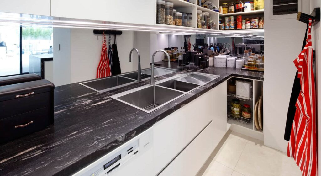 Modular kitchen surfaces