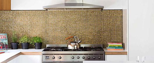 Mosaic Kitchen Splashback